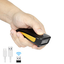 NETUM Mini Bluetooth Barcode Scanner Wireless 2D Pocket QR Bar code Reader PDF417 for Tobacco Garment mobile payment Industry