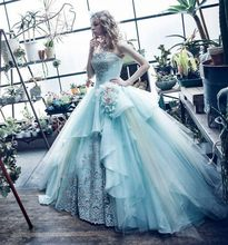 Vestido de baile quinceanera vestidos 2020 doce 16 vestidos debutante apliques céu azul sem alças vestido de 15 anos robe bal doce