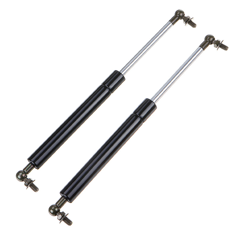 Shock Tailgate Gas Struts Exterior Mounting Black 1 Pair Set Kit Front For Nissan Navarra D23 NP300 14-18
