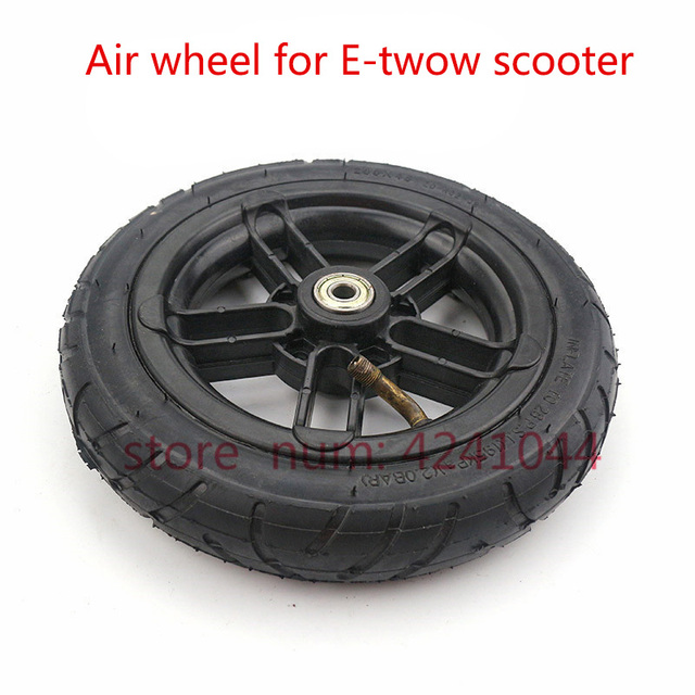 """8 Inch Inflated Wheel For E twow S2 Scooter M6 Pneumatic Wheel With Inner Tube 8"""" Scooter Wheelchair Air Wheel Can Loading 100Kg"""