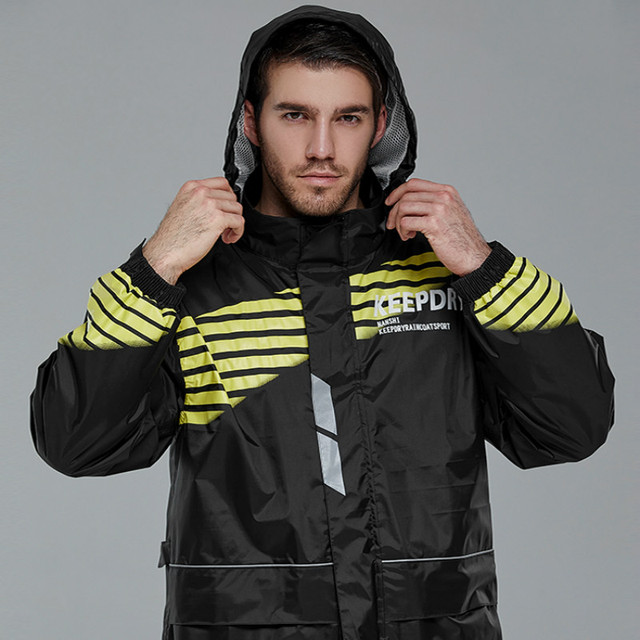 Motorcycle Raincoat Rain Pants Suit Male Rain Coat Thick Waterproof Outdoor  Rain Jacket Climbing Hiking Impermeable Gift Ideas 1