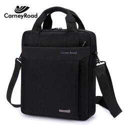 Carneyroad bolsa masculina de alta qualidade à prova dwaterproof água sacos de ombro negócios para homens moda oxford messenger bags ipad crossbody sacos