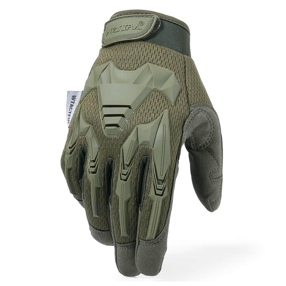 He90b5745f3684dc98e95f843f80061c2H - Tactical Military Gloves Army Paintball Shooting Airsoft Combat Bicycle Rubber Protective Anti-Skid Full Finger Glove Men Women