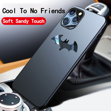 Ultra-thin Metal Batman Matte PC Phone Case For iPh