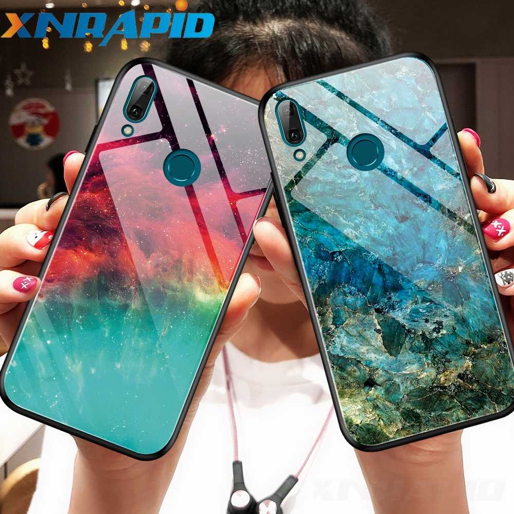 Gradient aurora chassis is suitable For xiaomi redmi note 7 pro 7S K20 Pro  Mi 9T 9 se CC9 e A3 Lite tempered glass back cover