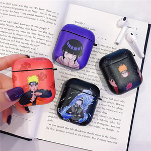 Cartoon anime Pattern For Apple Airpods Case Funny Cute Bluetooth Earphone Cover Silicone Headphone Case For airpods Pro Headset(China)