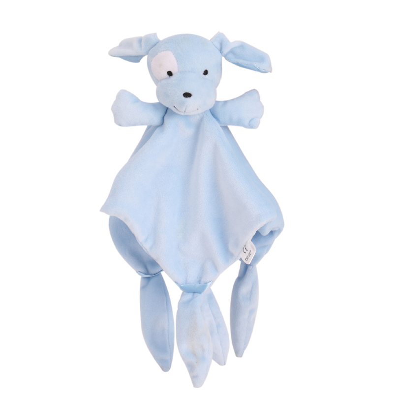 Soft Baby Appease Towel Soothe Sleeping Educative Baby Rattles Animal Blankie Towel Mobiles Stroller Toys K0066
