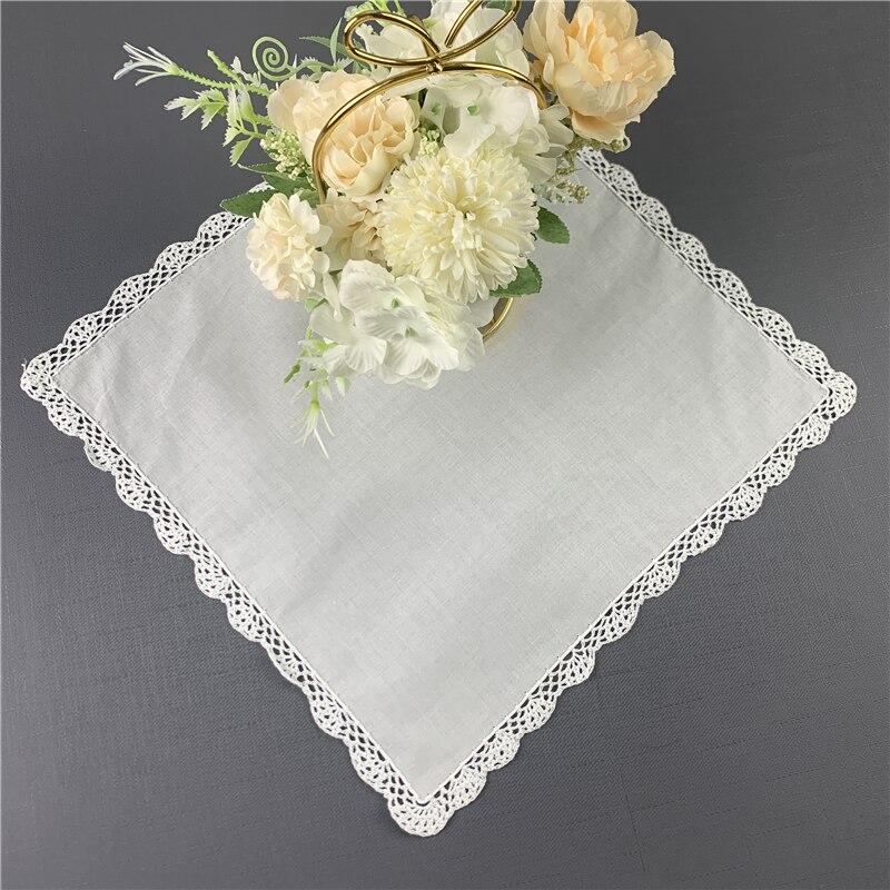 Set Of 12 Fashion Ladies Handkerchief 12
