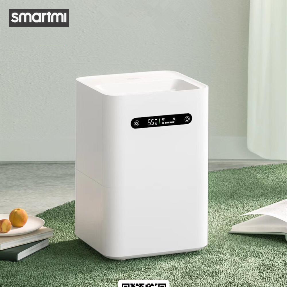 Smartmi Evaporation Air Humidifier 2 4L Large Capacity 99% Antibacterial Smart Screen Display For Mi Home Mijia APP Control
