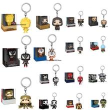 Keychain-Toys Box-Figure VENOMIZED ROCKET NARUTO THANOS ARAGORN Pop Model-Toy Children