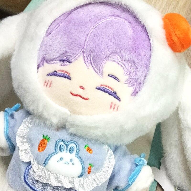 Фигурка куклы Taehyung V JUNG KOOK, 20 см, мягкие хлопковые плюшевые куклы, детские игрушки, плюшевые куклы, куклы-IDOL, коллекционный подарок, бесплатна...