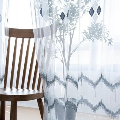 2x sur mesure en mousseline de soie fenêtre rideau Tulle pure rideau voile fenêtre Dressing vague blanc