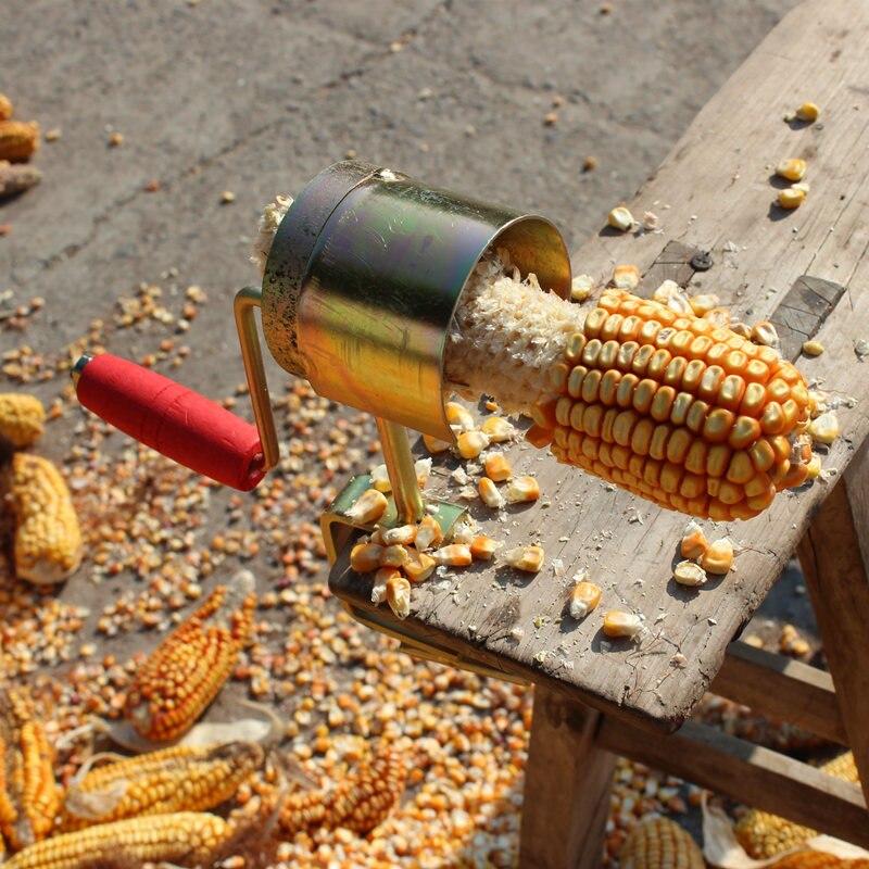 Креативный ручной Строгальщик, сепаратор для сухой кукурузы, простой в одном шаге, устройство для очистки кернеля, устройство для очистки к...