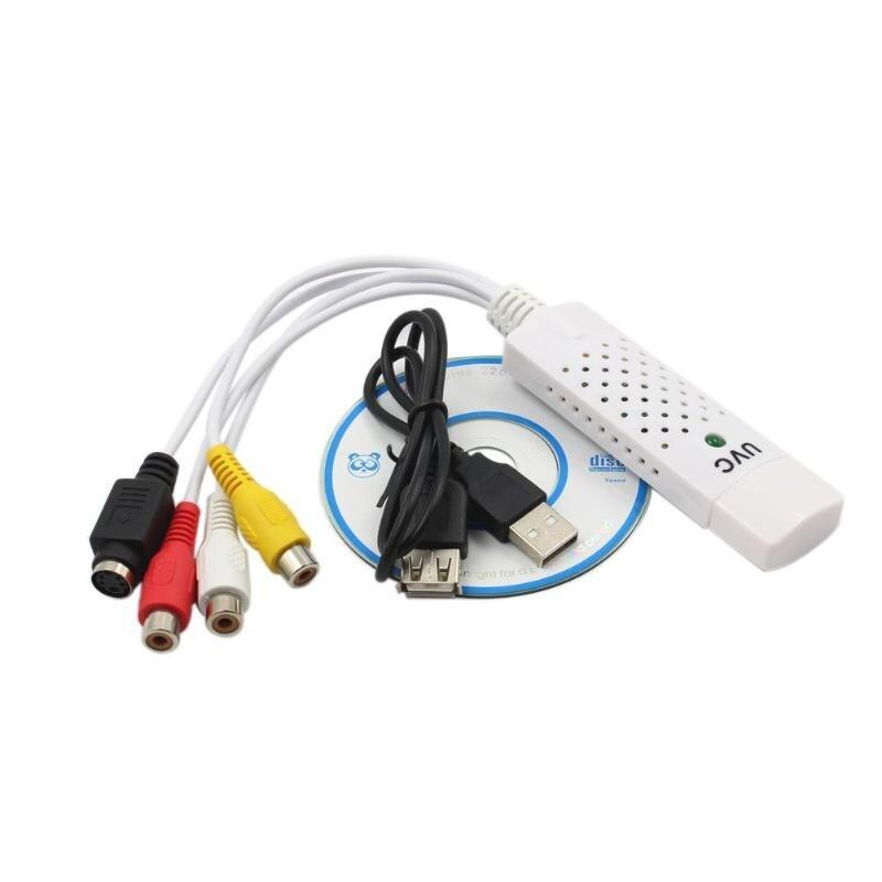 Converter Easycap Audio Video Adapter USB VHS To DVD Video Capture Win7/8
