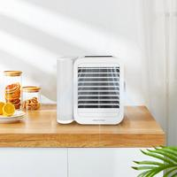 YOUPIN MICROHOO 6W 1000ml Water Capacity Mini Air Conditioner Touch Screen 99 speed Adjustment Energy Saving Timing Cooling Fan