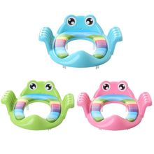 Bebe childish Baby Cartoon Toilet Seat Anti-slip Adjustable Auxiliary Cushion Potty Ring