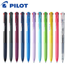 Pilot BKSG-25 Super Grip Multicolor Balpen Perstype 0.7 Mm Multifunctionele Pen Student Drie-In-een kleur Module Pen(China)