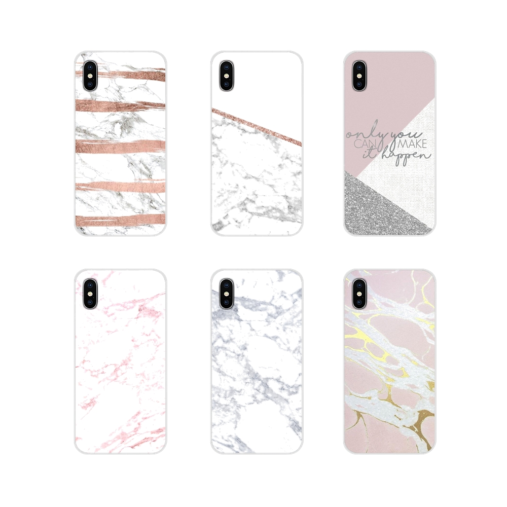 Granite Pink White Marble Texture For Oneplus 3T 5T 6T <font><b>Nokia</b></font> 2 3 5 6 8 9 <font><b>230</b></font> 3310 2.1 3.1 5.1 7 Plus 2017 2018 Soft Shell <font><b>Covers</b></font> image