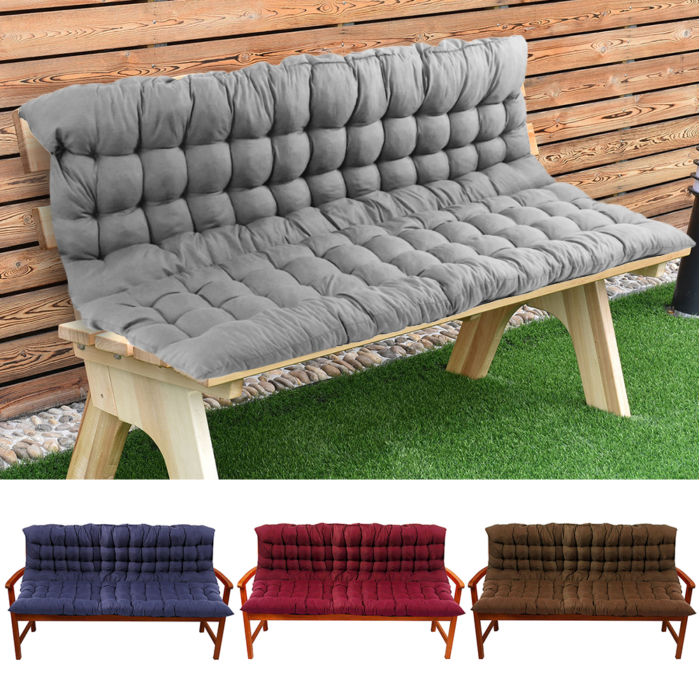 Garden Bench Cushions Outdoor Patio Furniture Seat Mat Pad Chair Indoor Home Swing Cushion Cotton Comfortable High-quality(China)