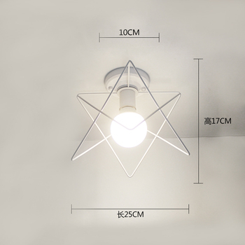 Ceiling light ceiling lamp iron living room lights modern deco salon for dining room hanging led light fixtures surface mounted 14