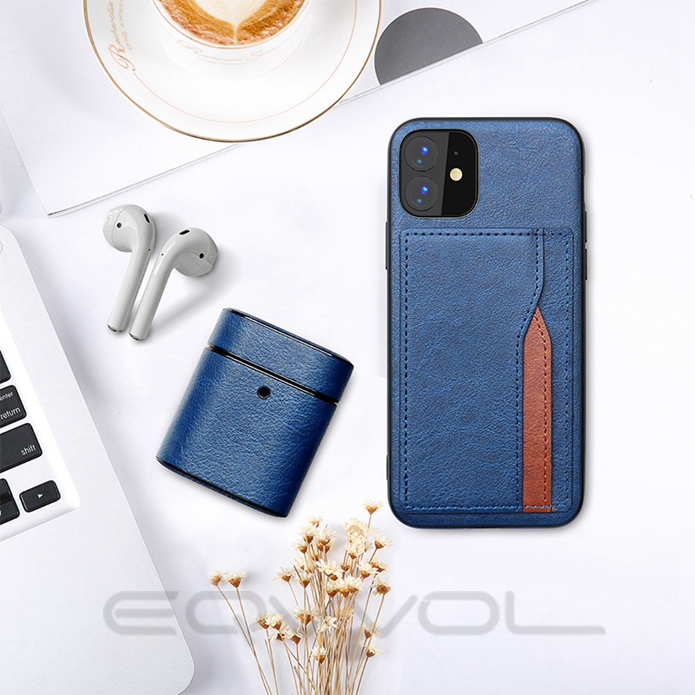 He90f22c167344c3eb746aaa1d80158ffE Eqvvol Retro PU Leather Case For iPhone 11 Pro MAX 2019 Multi Card Wallet Case For iPhone X XS MAX XR 11 Shockproof Cover Coque