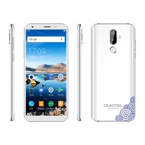 Image 3 - Oukitel K5 18:9 תצוגת 5.7 אנדרואיד 7.0 2GB RAM 16GB ROM Smartphone Quad Core 13MP 3 מצלמות 4000mAh טלפון נייד טביעת אצבע