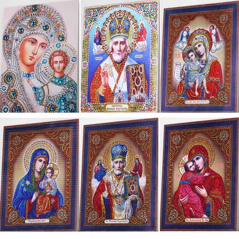 TEEMANDITIKAND / TEEMANTMAAL (MOSAIIK) - tee ise. Õigeusu ikoonid, 8 erinevat pildivalikut ja suurust.