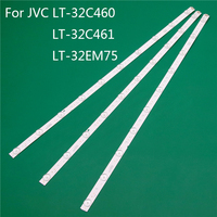 """Iluminación LED de TV para LT-32C460 JVC LT-32C461 LT-32EM75 de 32 """"barra LED de luz de fondo tira de línea de regla V320BJ6-Q01 LC320DXY LSC320AN02"""