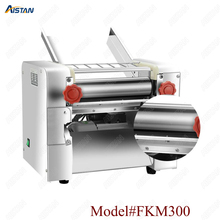 FKM300 Electric Dough Roller Stainless Steel Dough Sheeter Noodle Pasta Dumpling Maker Machine 220V Roller and Blade Changable full automatic electric pasta machine home kitchen intelligent automatic noodle machine electric household electric dumpling