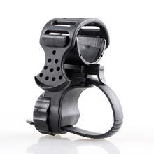 360 градусов Велоспорт зажим вращения велосипед вспышки светильник фонарь Крепление светодиодный фонарь переднего светильник держатель за...