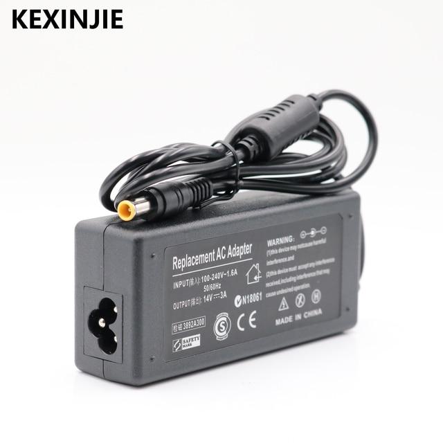 Бесплатная доставка, новинка, 1 шт., AC 100-240 В, DC 14 в, 3A, адаптер переменного тока, питание для монитора SAMSUNG, AP04214-UV, AD-4214L, адаптер питания