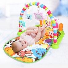 Baby Musik Rack Spielen Matte Puzzle Teppich Mit Klavier Tastatur Kinder Infant Playmat Gym Krabbeln Aktivität Teppich Spielzeug für 0-12 monate