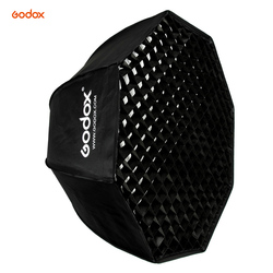 Godox SB-UE 80cm / 31.5in Portable Octagon Honeycomb Grid Umbrella Softbox with Bowens Mount for Speedlite