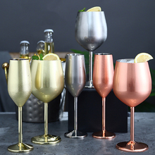 304 Stainless Steel Red Wine Glass Champagne Glass Plating Goblet Juice Drink Cocktail Whiskey Glass Party Decoration Wine Set