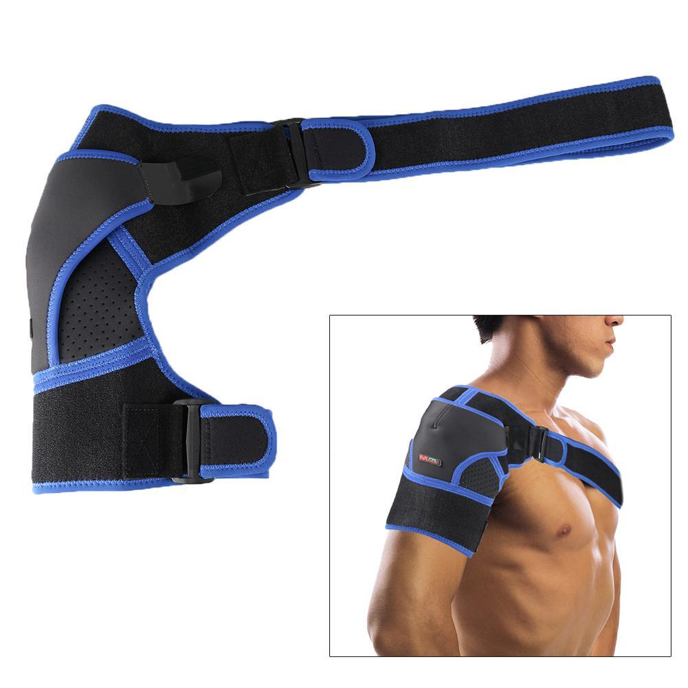Single Shoulder Brace G06 Shoulder Support Brace Compression Heat Band Shoulder Strap