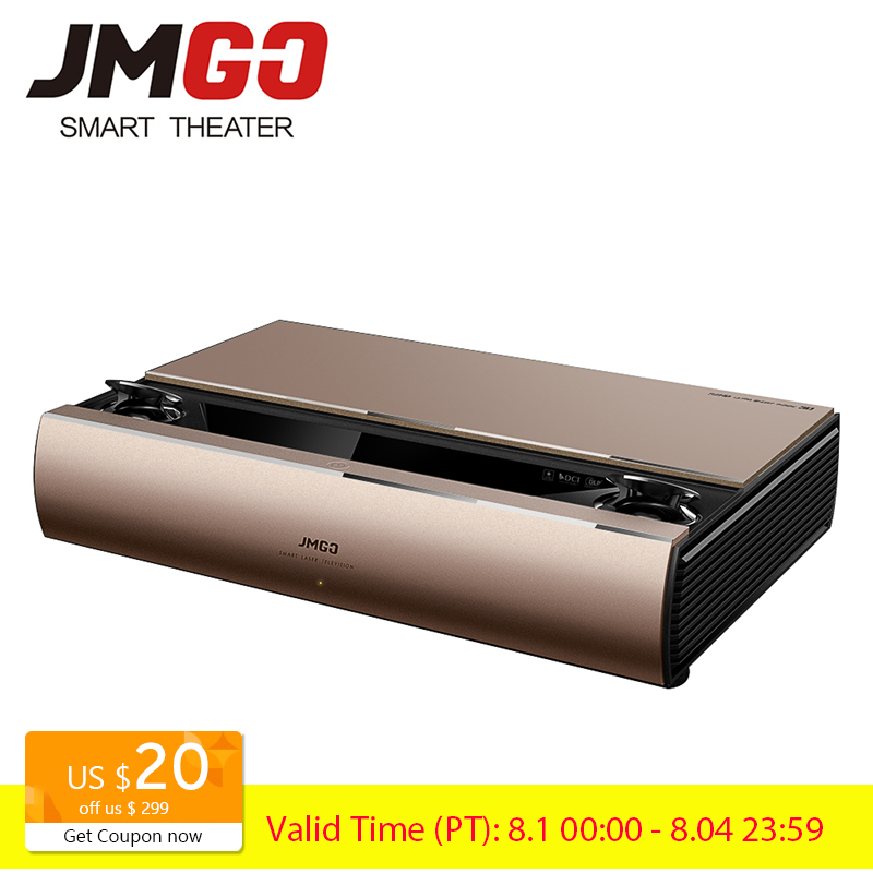 JMGO SA Laser Projector 1920x1080p 2200 ANSI Lumens Full HD Android Beamer WIFI Bluetooth 3D Proyector