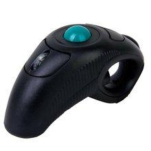 Wired Mouse USB Handheld Mouse Black 1000DPI Finger Using Optical Trackball Business Office Mice for PC Laptop solarbox x07 blue usb travel optical mouse 1000dpi прозрачный корпус с led подсветкой