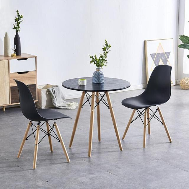 4PCS/Set Bar Stools Kitchen Bar Chair Modern Living Room Home Office Dining Chair Coffee Leisure Bar Stool Bar Furniture New HWC