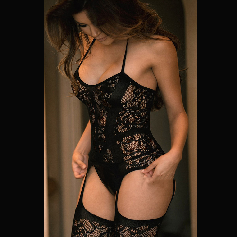 Women Sex Underwear <font><b>Dress</b></font> <font><b>Sexy</b></font> Lingerie Women <font><b>Hot</b></font> <font><b>Erotic</b></font> Baby Dolls <font><b>Dress</b></font> Women Teddy Lenceria Sexi Costumes image