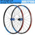 KOOZER MTB велосипед XR1700 72 Кольцо DT спицы прямые тяги 24 Отверстия 6 коготь горный велосипед четыре палина колеса Набор 26 27 5 дюймов