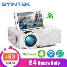 BYINTEK SKY BT140/BT140plus/BT140android светодиодный мини-проектор HD Домашний кинотеатр(дополнительно: беспроводной дисплей для Iphone смартфона