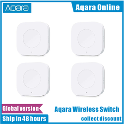 100% Aqara Smart Wireless Switch Smart Remote One Key Control Aqara Intelligent Application Home Security For Xiaomi Mi home App