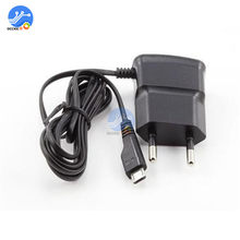 1Pcs 5V Micro USB Power Charger Adapter EU Plug Wall charger voor Samsung HTC Sony smartphones(China)