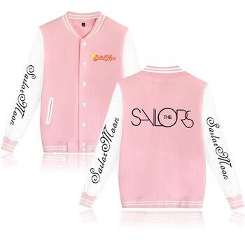 Sailor Moon Jacket Women Exclusive Fashion Hip Hop Winter Jacket Women New Style Anime Casual Hot Jacket Clothes XXS-4XL фото