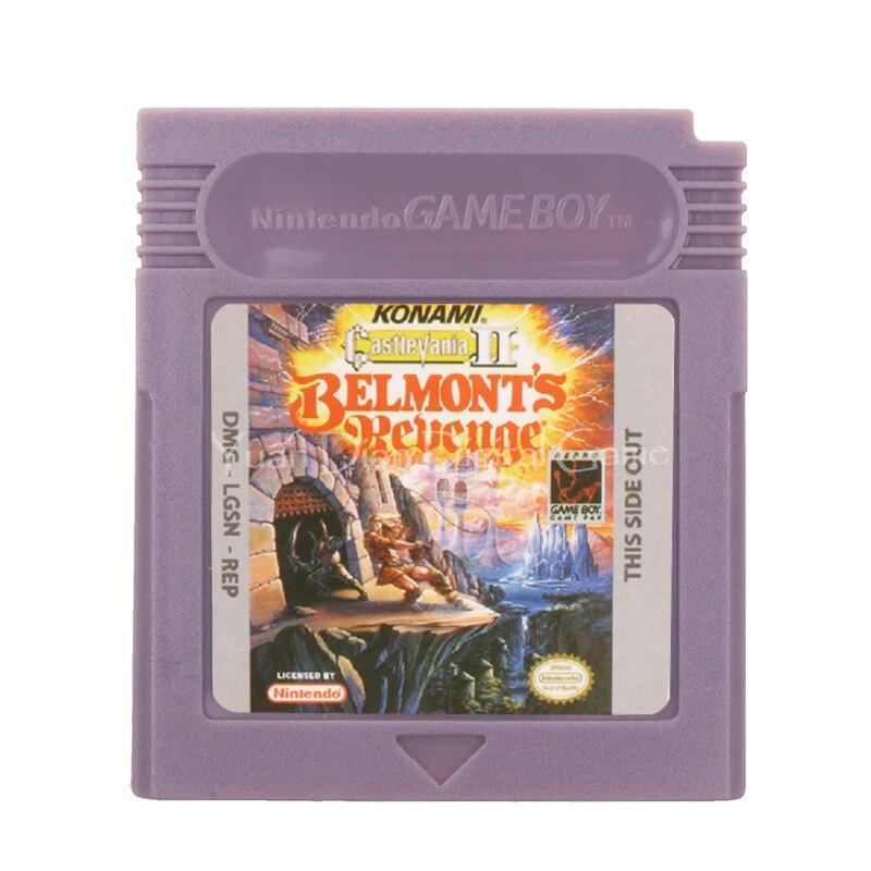 For Nintendo GBC Video Game Cartridge Console Card Castlevania II Belmont's Revenge English Language Version 1