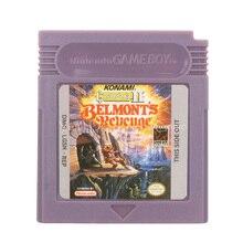 Para nintendo gbc jogo de vídeo cartucho console cartão castlevania ii belmont vingança versão em inglês