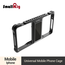 SmallRig Universal Mobile Phone Vlogging Cage Video Shooting Phone Cage Accessories With Cold Shoe Mount -2391