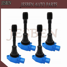 Brand New 4PCS/LOT Ignition Coil For 2002-2008 Nissan Altima Sentra X-Trail 2.5L NO# UF350 22448-8H315 22448-8H310 C1398 UF-350
