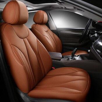 custom cowhide Leather car seat cover for Suzuki Grand Vitara Jimny Kizashi sx4 IGNIS 2017 Swift S-cross Interior Accessories