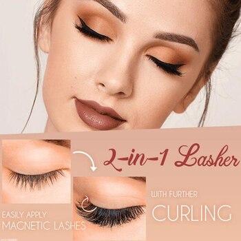 Magnetically Applying Eyelashes 1